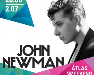 Первым хедлайнером Atlas Weekend 2017 станет Джон Ньюман-430x480