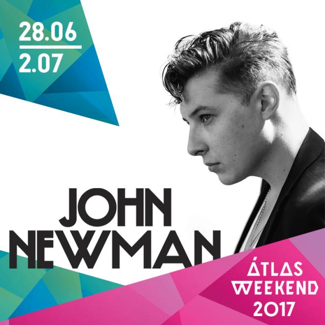 Первым хедлайнером Atlas Weekend 2017 станет Джон Ньюман-320x180