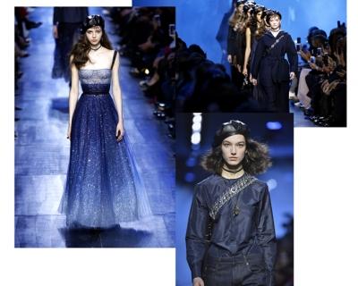 Все оттенки синего: Dior AW'17-430x480