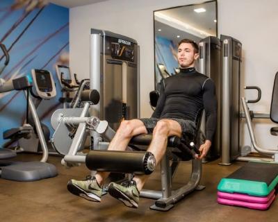 Тренировка в Hilton Kyiv The Health Club and Spa-430x480