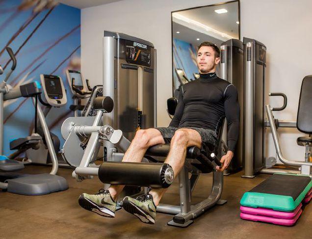 Тренировка в Hilton Kyiv The Health Club and Spa-320x180