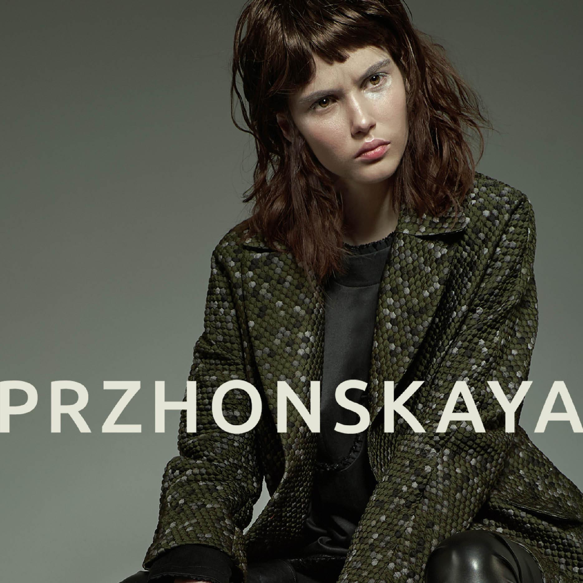 Бренд PRZHONSKAYA представил превью новой коллекции-320x180