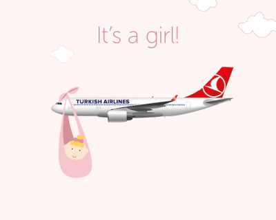 Француженка родила ребенка на борту самолета Turkish Airlines-430x480