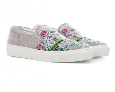 Тренды сезона в новой коллекции обуви Kenzo-430x480