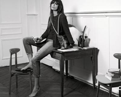 Каролин де Мегрэ в кампейне Chanel's Gabrielle-430x480
