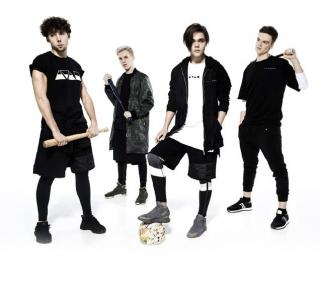Лицами новой коллекции A TAN MAN by Andre Tan стали участники украинского бойз-бенда Lucky4