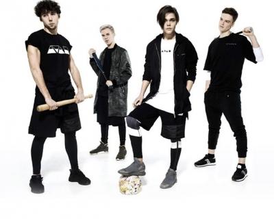 Лицами новой коллекции A TAN MAN by Andre Tan стали участники украинского бойз-бенда Lucky4-430x480