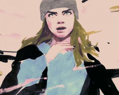 Кара Делевинь в кампейне Chanel's Gabrielle-430x480