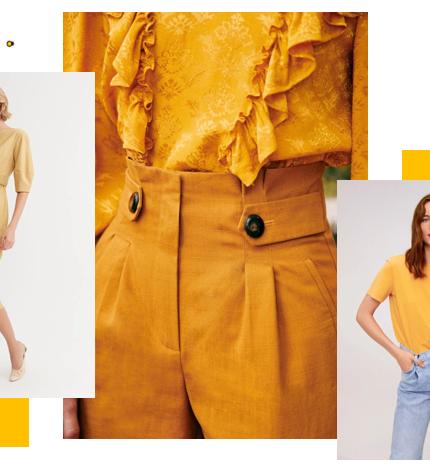 Тренд весеннего сезона: желтый цвет-430x480