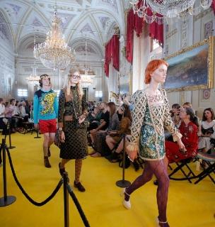 Показ круизной коллекции Gucci во Флоренции