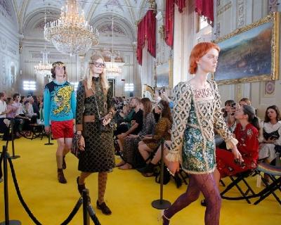 Показ круизной коллекции Gucci во Флоренции-430x480