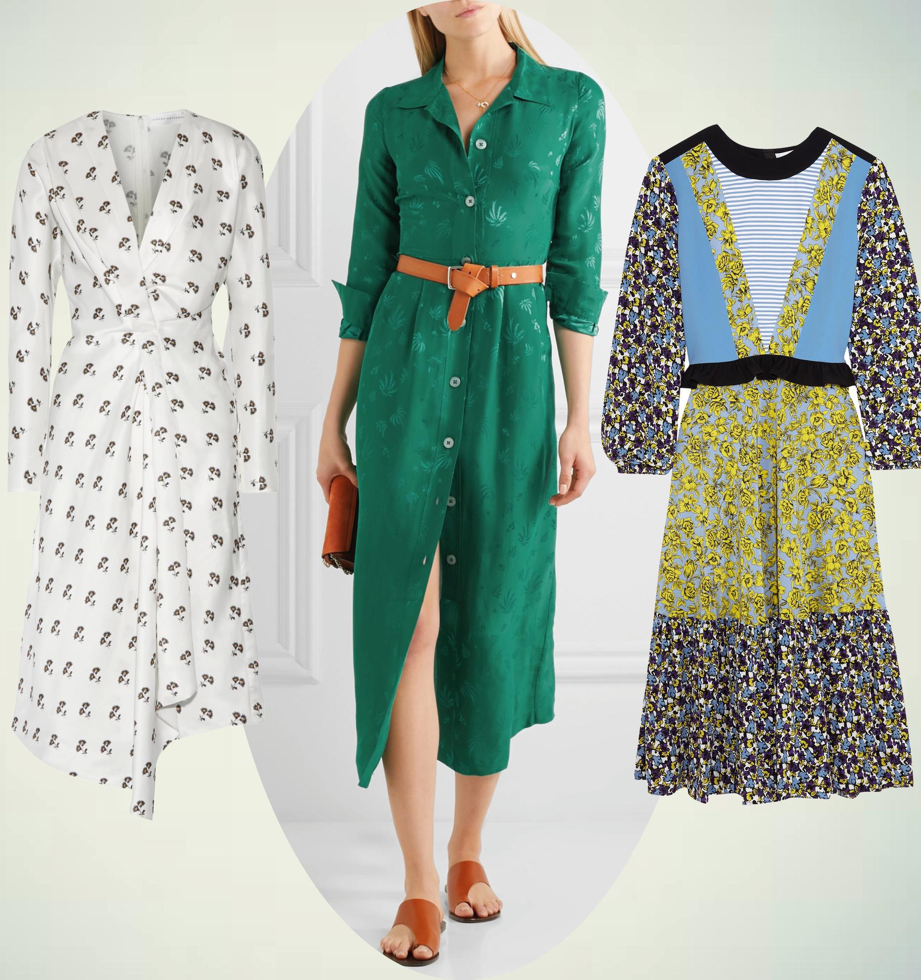 10 идеальный платьев — к резкому потеплению-320x180
