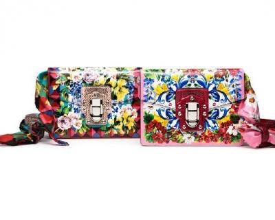 Цветущие сумки Dolce & Gabbana-430x480