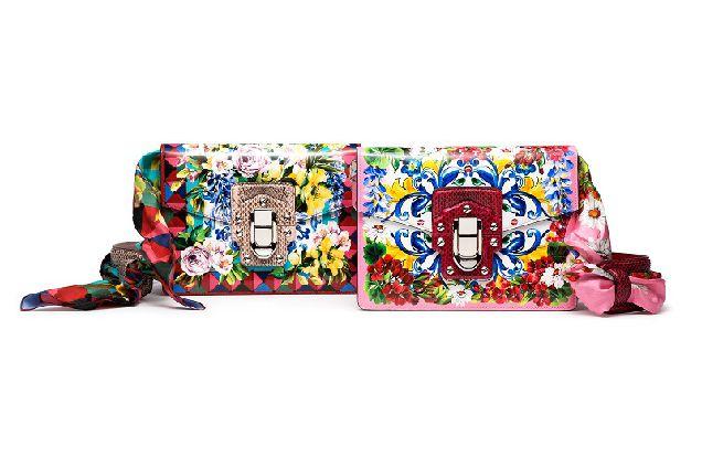 Цветущие сумки Dolce & Gabbana-320x180