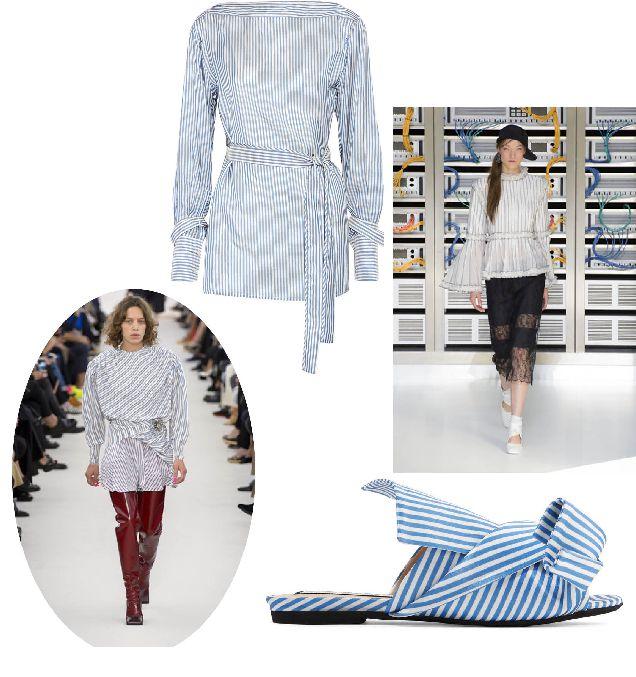 Модная полоска: с чем носить полосатую одежду-320x180