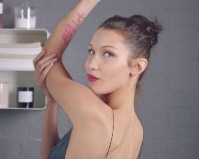 Белла Хадид представила новинку – стойкий тинт для губ Dior Lip Addict Tatoo-430x480