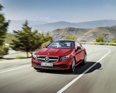 Mercedes-Benz представили новые автомобили Е-Класса в Украине-430x480