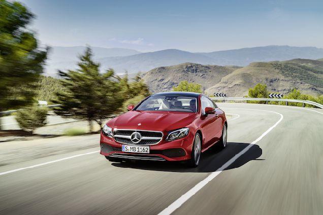 Mercedes-Benz представили новые автомобили Е-Класса в Украине-320x180