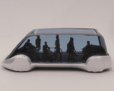 Транспорт будущего: Илон Маск показал беспилотный подземный электробус-430x480