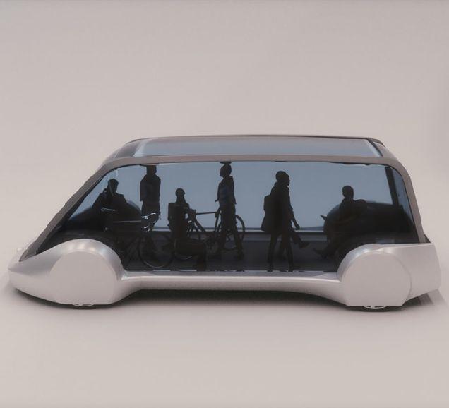 Транспорт будущего: Илон Маск показал беспилотный подземный электробус-320x180
