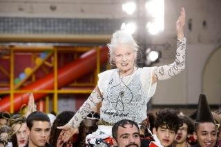Показ мужской коллекции Vivienne Westwood