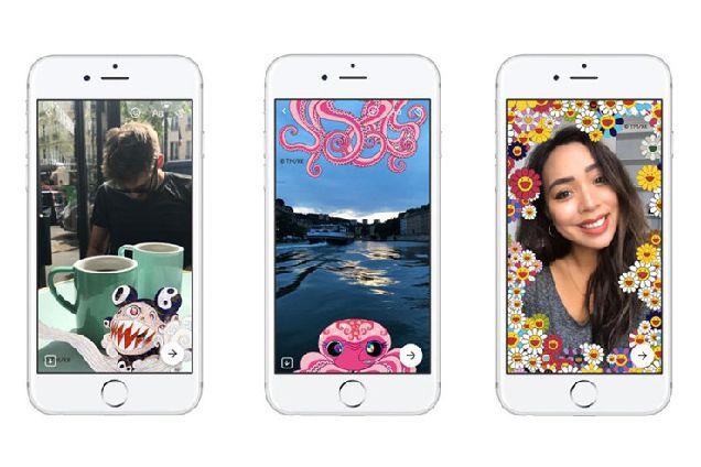 Художник Такаси Мураками создал фильтры для Facebook-320x180