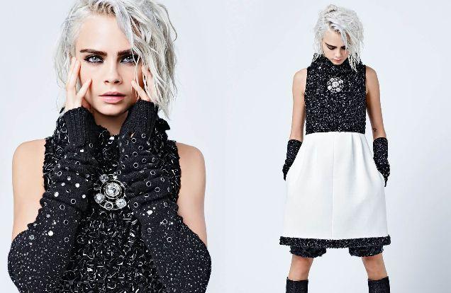 Кара Делевинь в новой рекламной кампании Chanel-320x180