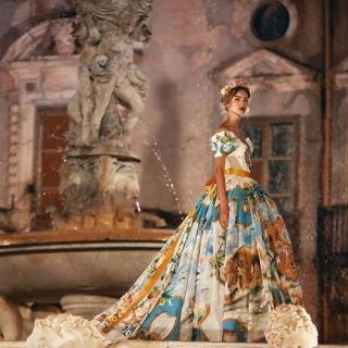 Как прошел показ Dolce & Gabbana Alta Moda в Палермо
