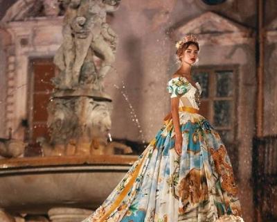 Как прошел показ Dolce & Gabbana Alta Moda в Палермо-430x480