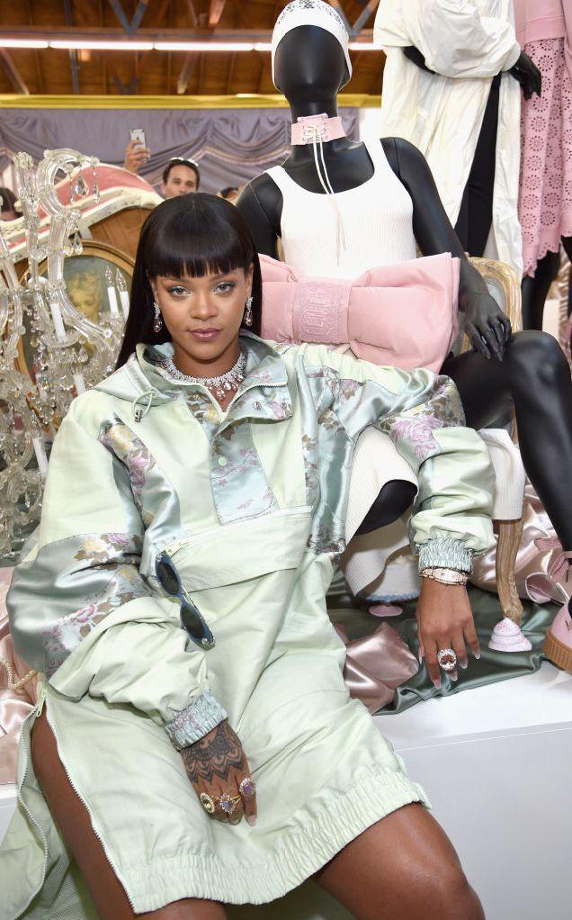 Рианна покажет свою новую коллекцию одежды в Нью-Йорке-320x180