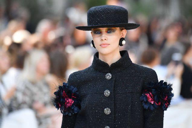 Разноцветный макияж, как на показе Chanel Haute Couture-320x180