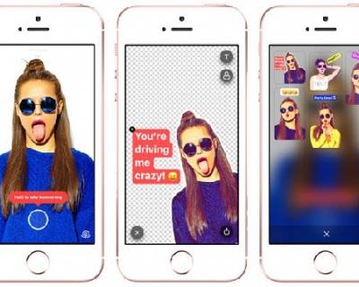 Новинка: появилось приложение для создания стикеров из селфи-430x480