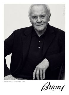 79-летний Энтони Хопкинс снялся в рекламной кампании Brioni