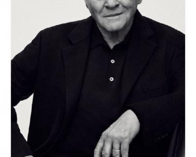 79-летний Энтони Хопкинс снялся в рекламной кампании Brioni-430x480