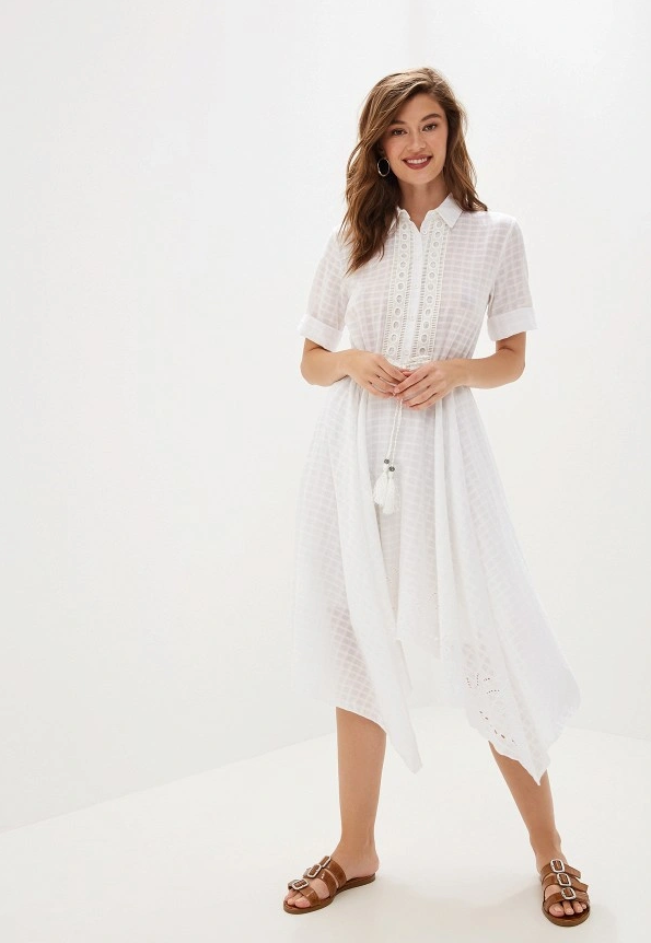Ниже колена: платья-миди, которые не захочется снимать-Фото 11