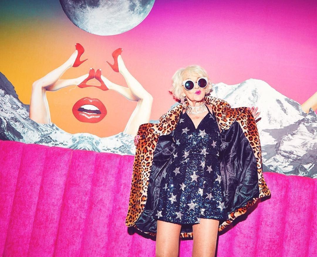 88-летняя модель снялась в рекламной кампании Urban Decay-320x180