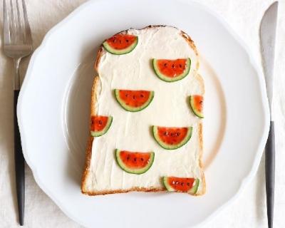 Забавный Instagram: японка создает самые милые тосты в мире-430x480