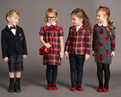 Back to school: школьная форма от Dolce & Gabbana-430x480
