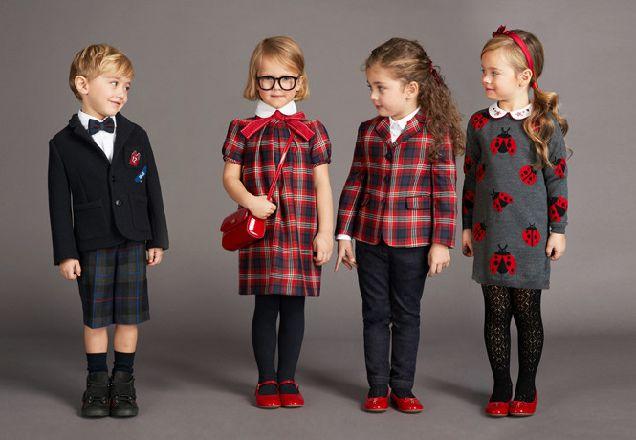 Back to school: школьная форма от Dolce & Gabbana-320x180