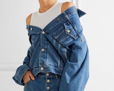 Тренд сезона: джинсовая куртка-430x480
