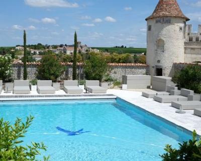 Жить в замке: поместье Le Logis в округе Коньяк-430x480