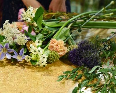 Как собрать букет цветов своими руками-430x480