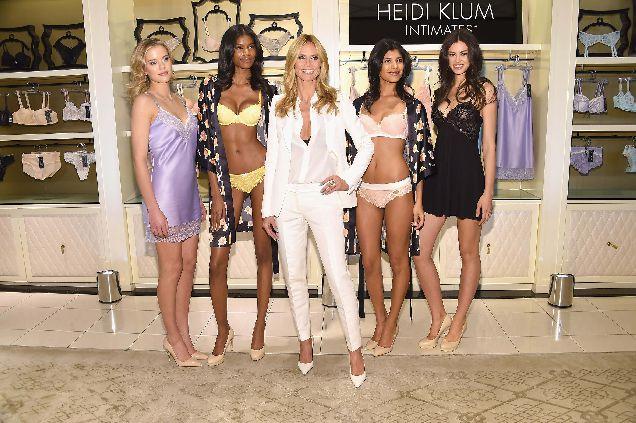 Хайди Клум выпустила новую коллекцию нижнего белья-320x180