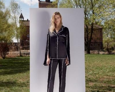 Украинский бренд представил новую коллекцию пижам и халатов-430x480