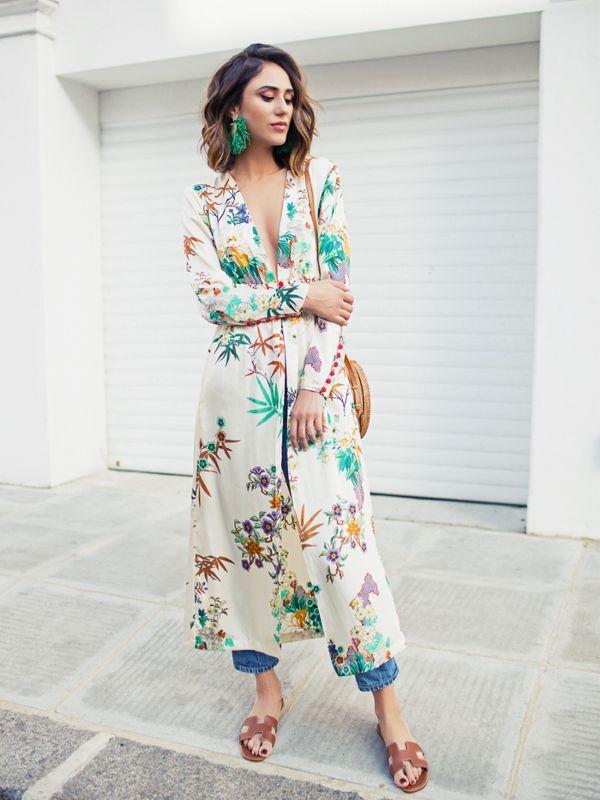 Как носить кимоно: идеи от модных блогеров-320x180