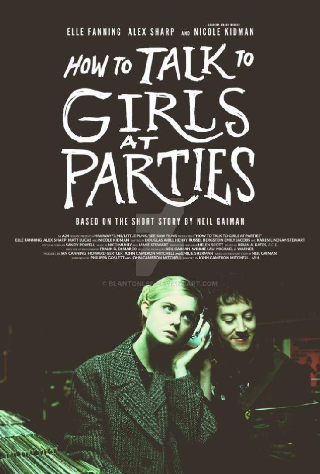 Вышел трейлер фильма «Как разговаривать с девушками на вечеринках» с Николь Кидман-320x180