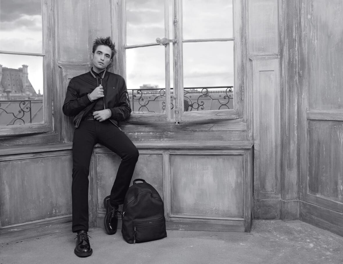 Роберт Паттинсон снялся для нового кампейна Dior-320x180