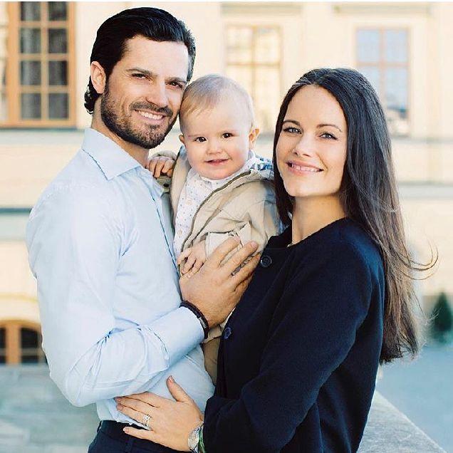 Принц Карл Филипп и принцесса София стали родителями во второй раз-320x180