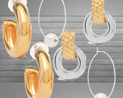 Серьги-хулахупы – самое модное украшение сезона-430x480