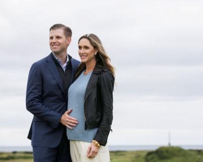 Сын Дональда Трампа впервые стал отцом-430x480